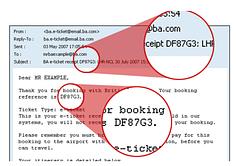 British Airways Check In Ticketnummer