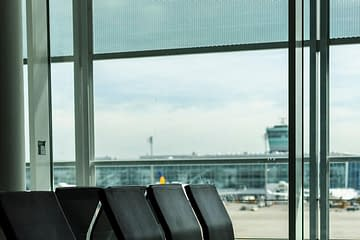 Check In am Flughafen München