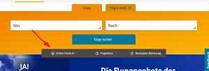 condor online check in schritt für schritt